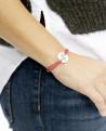 Bracelet Josie Argent massif